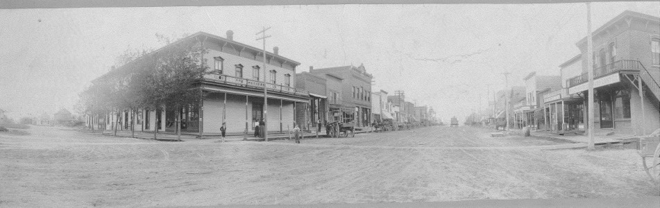 Downtown Amery - 1904